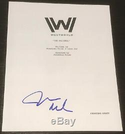 James Marsden Signed Autograph Westworld Rare Full Pilot Script Coa