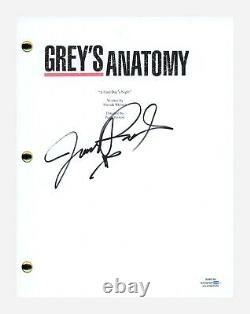 James Pickens Jr Signed Autographed Grey's Anatomy Pilot Script ACOA COA
