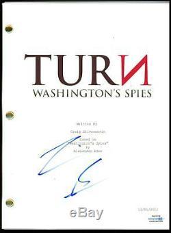 Jamie Bell TURN Washington's Spies AUTOGRAPH Signed Full Pilot Script ACOA