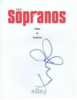 Jamie Lynn Sigler Signed The Sopranos Pilot Episode Script Autograph Coa