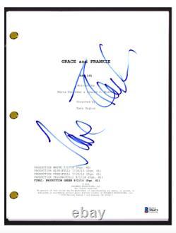 Jane Fonda Signed Autograph GRACE AND FRANKIE Pilot Script Beckett BAS COA