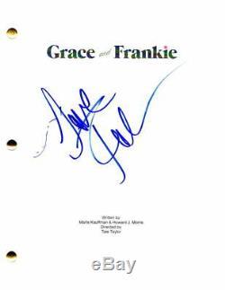 Jane Fonda Signed Autograph Grace And Frankie Pilot Script Lily Tomlin