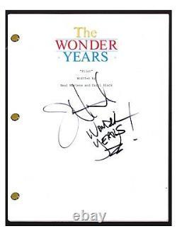 Jason Hervey Signed Autographed The Wonder Years Pilot Episode Script COA