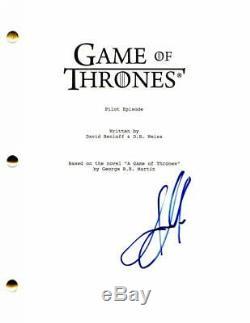 Jason Momoa Signed Autograph Game Of Thrones Pilot Script Khal Drogo Aquaman