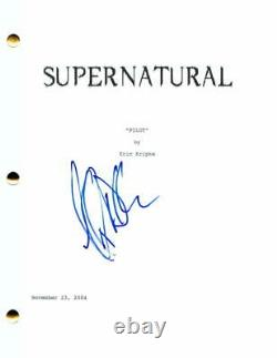Jeffrey Dean Morgan Signed Autograph Supernatural Full Pilot Script Negan