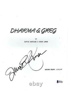 Jenna Elfman Signed Dharma And Greg Pilot Ep Script Authentic Autograph Beckett