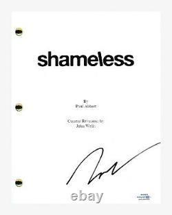 Jeremy Allen White Signed Autographed SHAMELESS Pilot Episode Script ACOA COA
