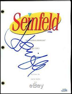 Jerry Seinfeld Seinfeld AUTOGRAPH Signed Complete Pilot Episode Script ACOA