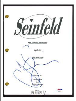 Jerry Seinfeld Signed Autographed Seinfeld Pilot Script Screenplay PSA/DNA COA