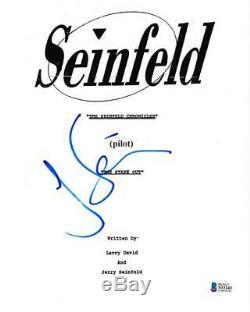 Jerry Seinfeld Signed Full Script Seinfeld Pilot Episode Autograph Beckett Coa