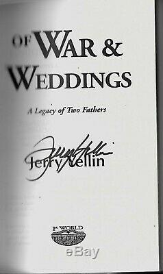 Jerry Yellin 78th Fighter Squadron 15th Fighter Group P-51 Pilot Signed Book