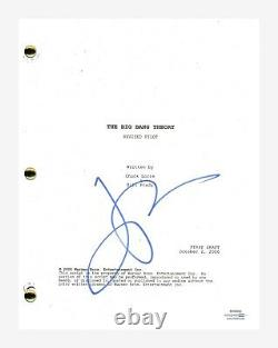 Jim Parsons Signed Autographed The Big Bang Theory Pilot Episode Script ACOA COA