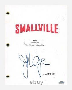 John Glover Signed Autographed SMALLVILLE Pilot Episode Script ACOA COA