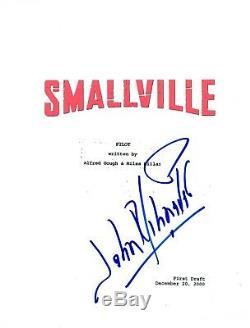 John Schneider Signed Autographed SMALLVILLE Pilot Episode Script COA