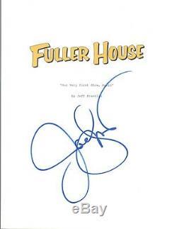 John Stamos Signed Autographed FULLER HOUSE Pilot Episode Script COA
