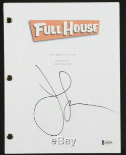 John Stamos Signed Autographed FULL HOUSE Pilot Episode Script Beckett BAS COA