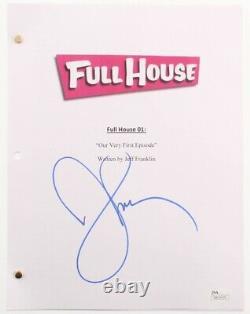 John Stamos Signed Full House Full Pilot Script (JSA COA)