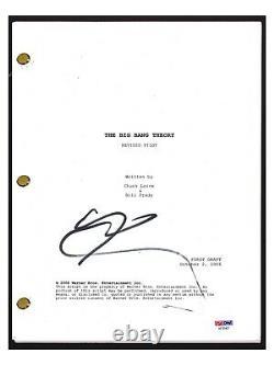 Johnny Galecki Signed Autographed THE BIG BANG THEORY Pilot Script PSA/DNA COA
