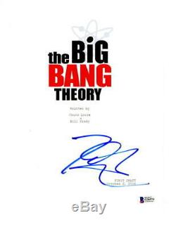 Johnny Galecki Signed Big Bang Theory Pilot Ep Full Script Authentic Autograph