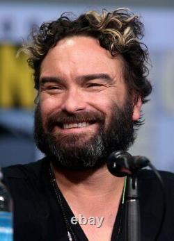Johnny Galecki Signed The Big Bang Theory Revised Pilot Episode Script JSA COA