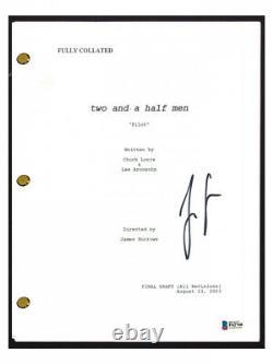 Jon Cryer (Alan Harper) Signed Two and a Half Men Pilot Episode Script -Beckett