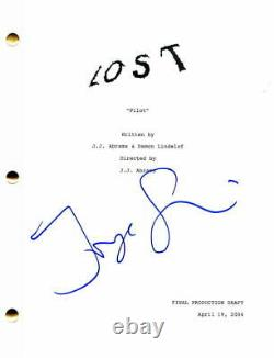 Jorge Garcia Signed Autograph Lost Full Pilot Script Jj Abrams, Maggie Grace