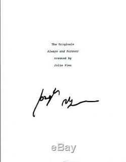 Joseph Morgan Signed Autographed THE ORIGINALS Pilot Episode Script COA VD