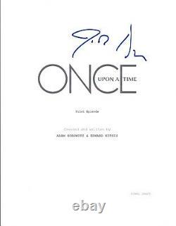 Josh Dallas Signed Autographed ONCE UPON A TIME Pilot Script COA VD