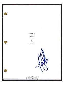 Joshua Jackson Signed Autographed FRINGE Pilot Episode Script Screenplay COA