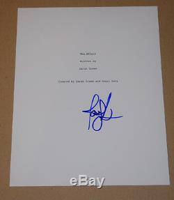 Joshua Jackson Signed Autographed The Affair Full Pilot Episode Script COA