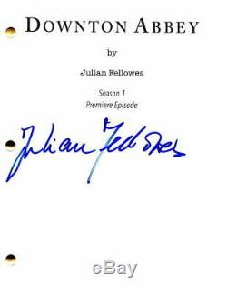 Julian Fellowes Signed Autograph Downton Abbey Full Pilot Script -maggie Smith