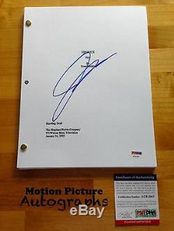 Julian Mcmahon Signed Nip Tuck Pilot Episode Script Full 62 Pages Psa Dna Coa