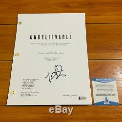 KAITLYN DEVER SIGNED UNBELIEVABLE FULL PAGE PILOT SCRIPT with BECKETT BAS COA