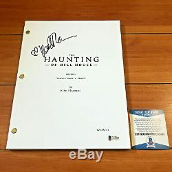 KATE SIEGEL SIGNED HAUNTING OF HILL HOUSE FULL PILOT SCRIPT with BECKETT BAS COA