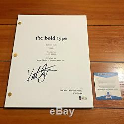 KATIE STEVENS SIGNED THE BOLD TYPE FULL 61 PAGE PILOT SCRIPT with BECKETT BAS COA