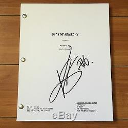 KIM COATES SIGNED SONS OF ANARCHY FULL PILOT SCRIPT with PROOF & CHARACTER NAME