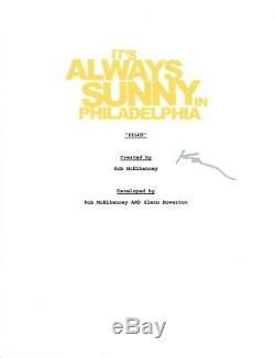 Kaitlin Olson Signed It's Always Sunny in Philadelphia Pilot Episode Script COA