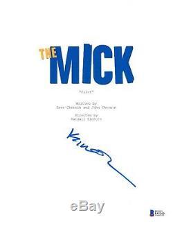 Kaitlin Olson Signed The Mick Pilot Episode Script Beckett Bas Autograph Auto