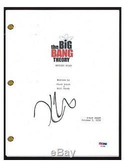 Kaley Cuoco Signed Autographed THE BIG BANG THEORY Pilot Script PSA/DNA COA