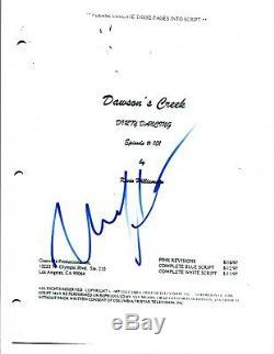 Katie Holmes Signed Autographed DAWSON'S CREEK Pilot Episode Script COA AB