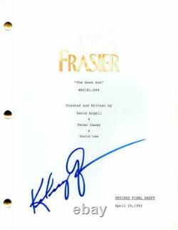 Kelsey Grammer Signed Autograph Frasier Full Pilot Script Cheers, Toy Story