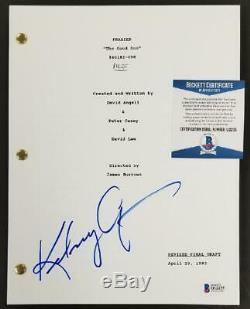 Kelsey Grammer signed Frasier TV Show Script Pilot Autograph Beckett BAS COA