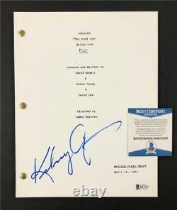 Kelsey Grammer signed autograph Frasier Full Pilot TV Script BAS COA Beckett