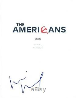 Keri Russell Signed Autographed THE AMERICANS Pilot Episode Script COA