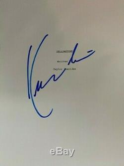 Kevin Costner signed autographed Yellowstone Pilot Script Rare