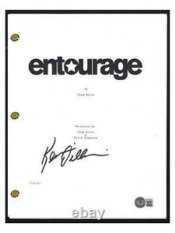 Kevin Dillon Signed Autographed Entourage Pilot Script Screenplay Beckett COA