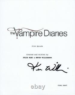 Kevin Williamson Signed Autographed THE VAMPIRE DIARIES Pilot Script COA VD