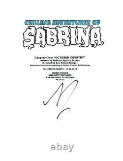 Kiernan Shipka Signed Autograph CHILLING ADVENTURES OF SABRINA Pilot Script COA
