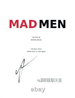 Kiernan Shipka Signed Autographed MAD MEN Pilot Episode Script COA