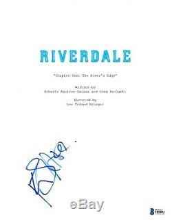 Kj K. J. Apa Signed Riverdale Pilot Episode Script Beckett Bas Autograph Auto